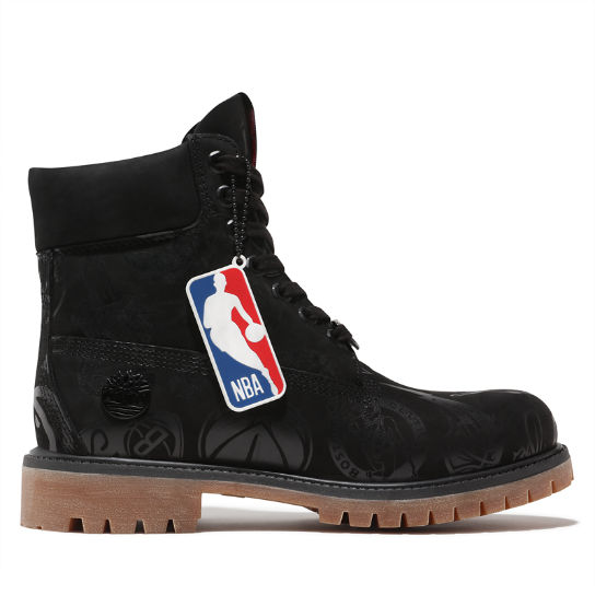 Premium NBA 6 Inch Boot for Men in Black | Timberland