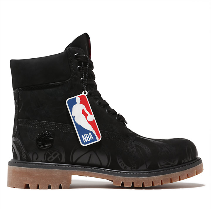 Premium NBA 6 Inch Boot for Men in Black-