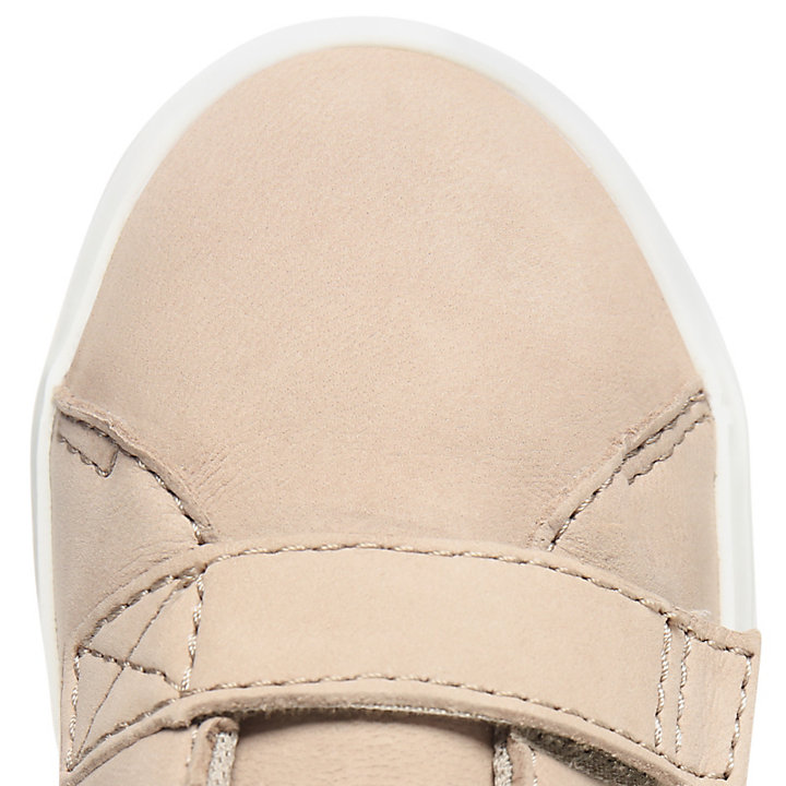 Newport Bay Leather Trainer for Toddler in Beige-
