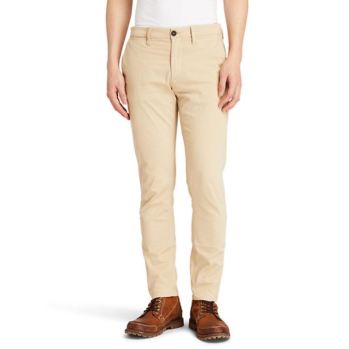 Pantaloni Chino Ultrastretch da Uomo Sargent Lake in beige-