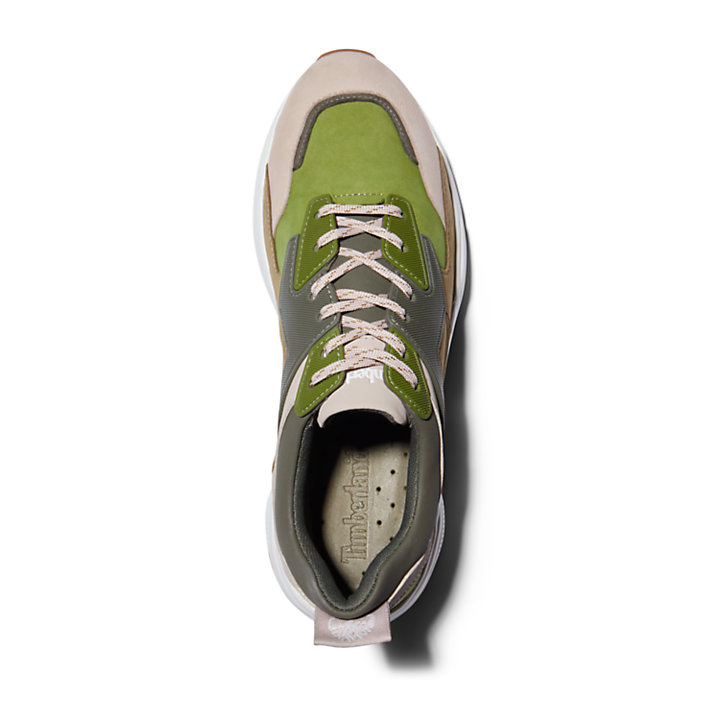 Delphiville Sneaker for Women in Green-