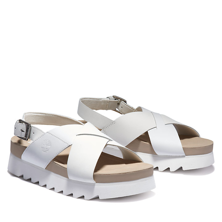 Santa Monica Sunrise Sandal for Women in White-