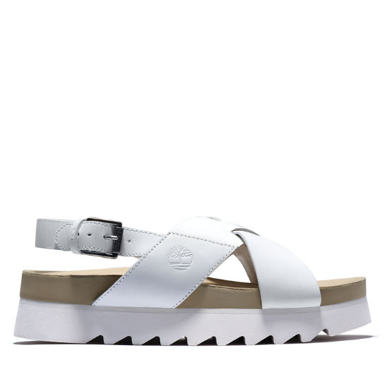 Santa Monica Sunrise Sandal for Women in White | Timberland