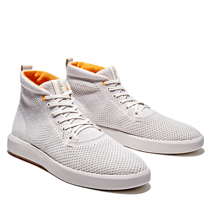 TrueCloud™ EK+ Chukka for Men in Light Grey-