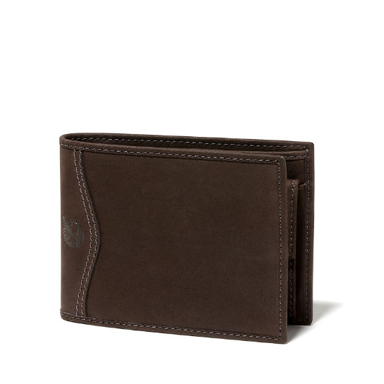 Trifold Wallet for Men in Dark Brown | Timberland