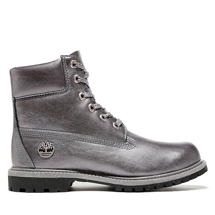 6 Inch Premium Boot for Women in Grey-