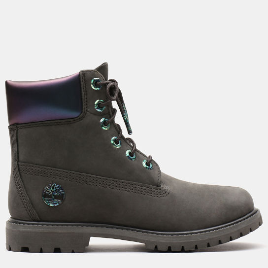 6 Inch Iridescent Premium Boot for Women in Dark Green | Timberland