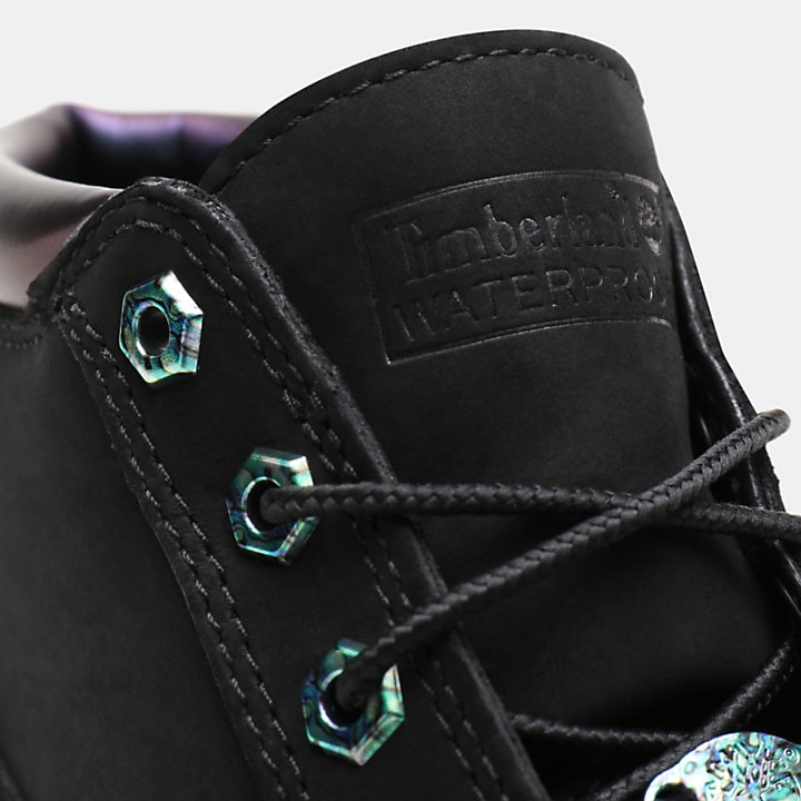 Nellie Iridescent Chukka for Women in Black-