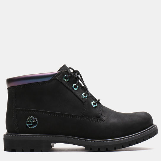 Nellie Iridescent Chukka for Women in Black | Timberland