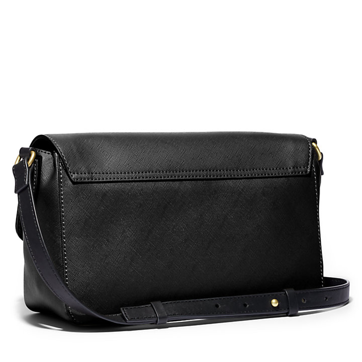 New City Explorer Flap Handbag in Black-