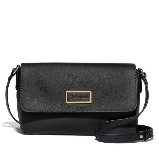 New City Explorer Flap Handbag in Black | Timberland