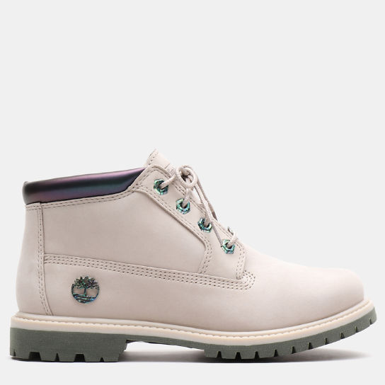 Nellie Iridescent Chukka for Women in Greige | Timberland