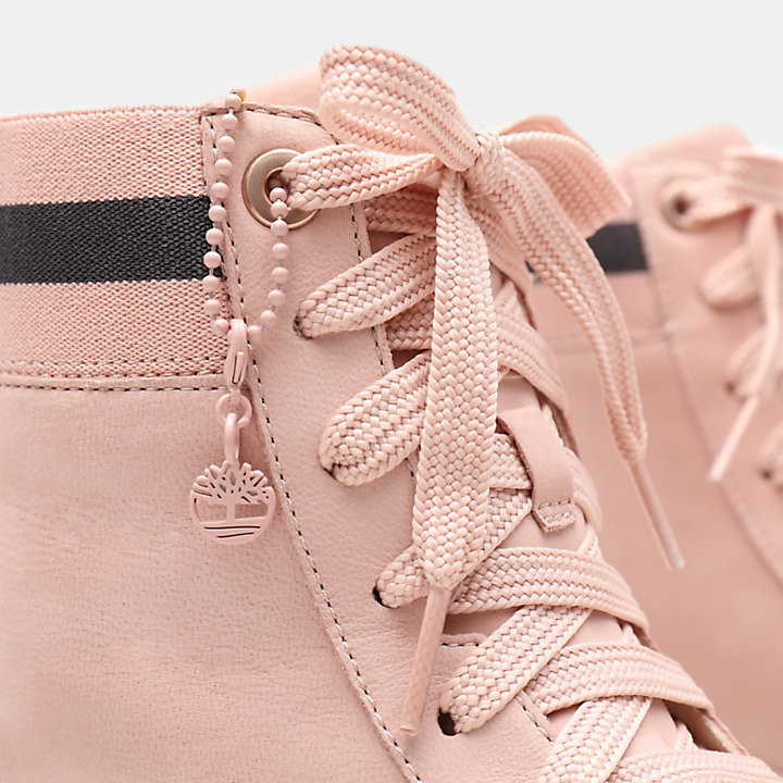 Ruby Ann Hi-Tops für Damen in Pink-