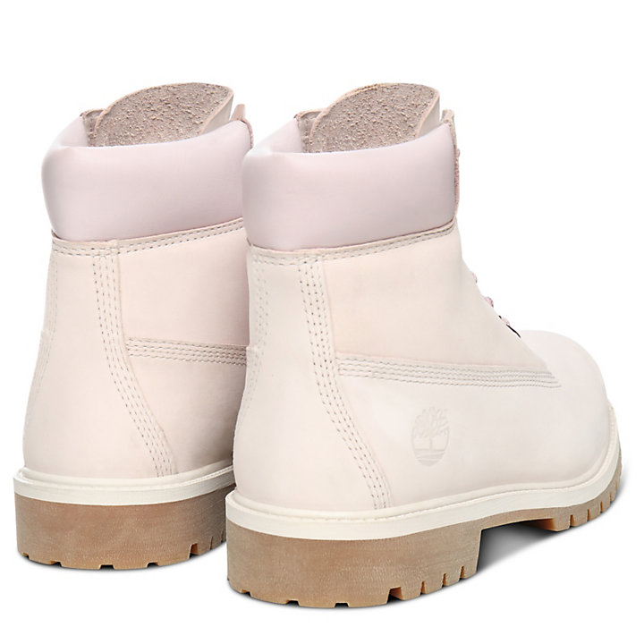 Premium 6 Inch Boot for Junior in Light Pink-