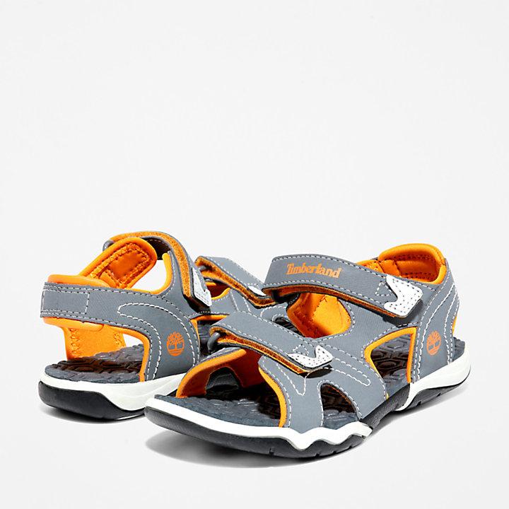 Sandale Adventure Seeker 2-Strap pour tout-petit en gris/orange-