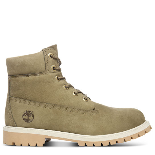 Premium 6 Inch Boot for Junior in Green | Timberland