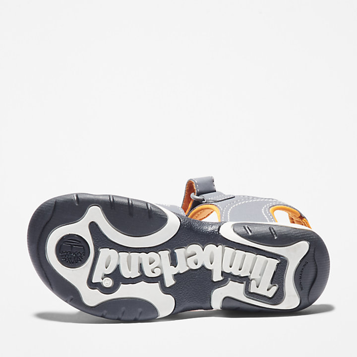 Sandale Adventure Seeker junior en gris/orange-