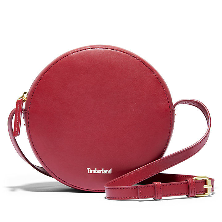 Rosecliff Crossbody Bag for Women in Red-