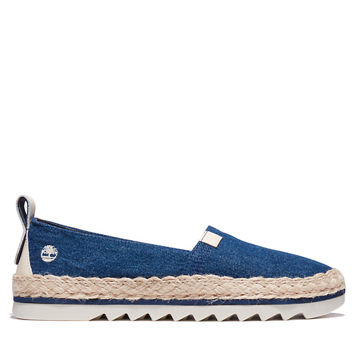 Scarpa Slip-On da Donna Barcelona Bay in blu-