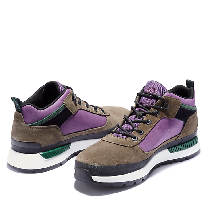 Field Trekker Low Hiker for Men in Greige-