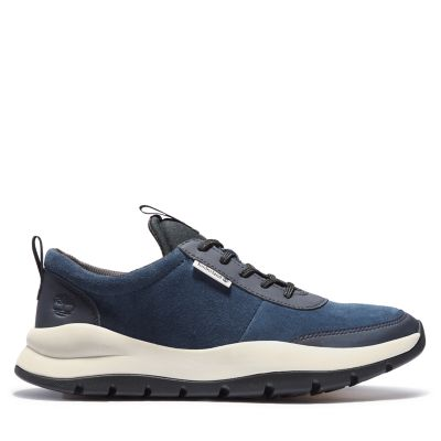 Boroughs+Project+Ledersneaker+f%C3%BCr+Herren+in+Navyblau