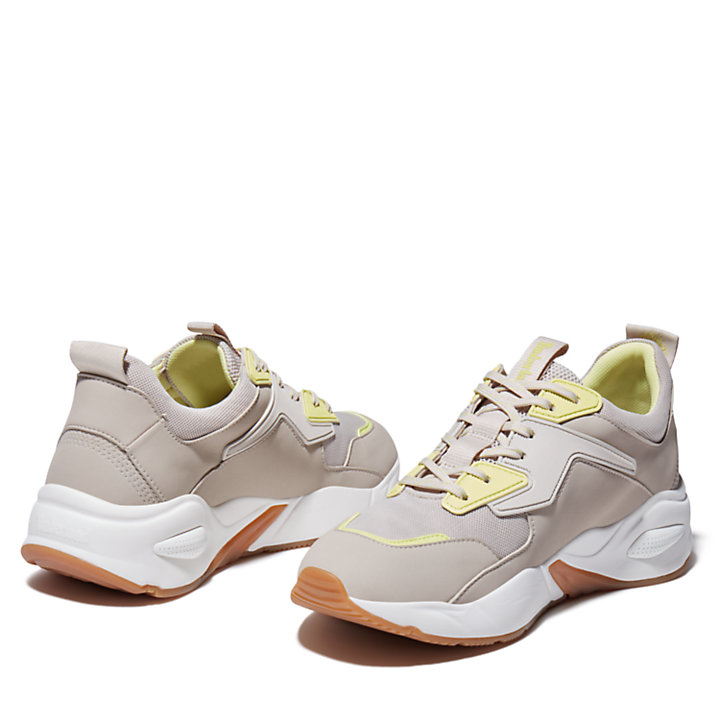 Delphiville Mesh Sneaker for Women in Beige-