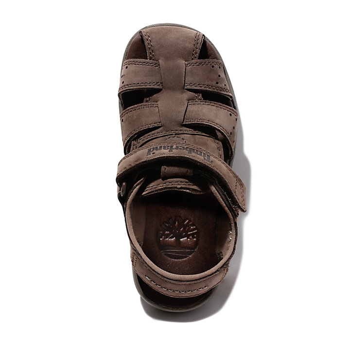 Sandal for Youth in Dark Brown-