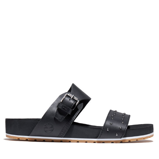 Malibu Waves Slide Sandal for Women in Black | Timberland