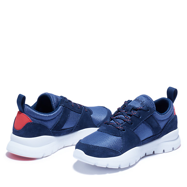 Boroughs Project Sneaker for Youth in Navy-