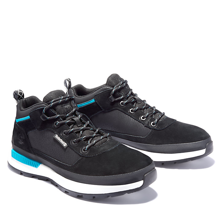 Field Trekker Low Hiker for Men in Black-
