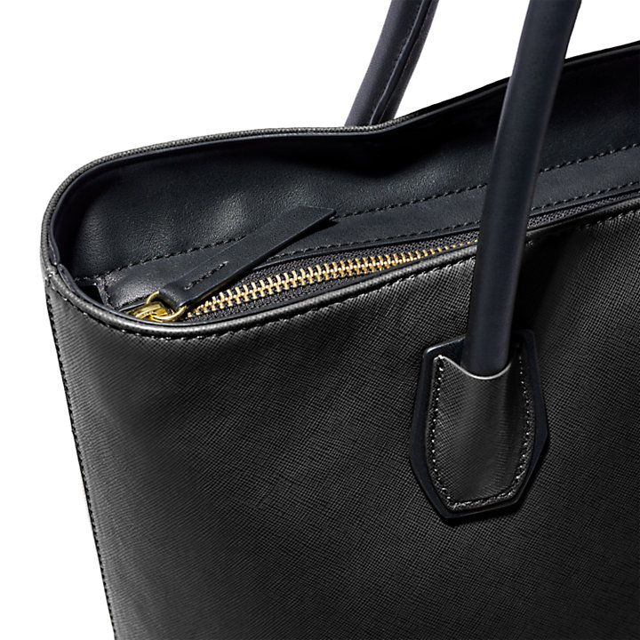 New City Explorer Tote Bag for Women in Black-