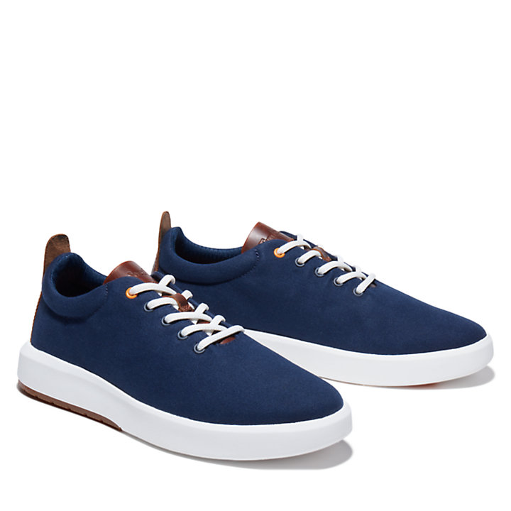 TrueCloud™ EK+ Canvas Sneaker for Men in Navy-