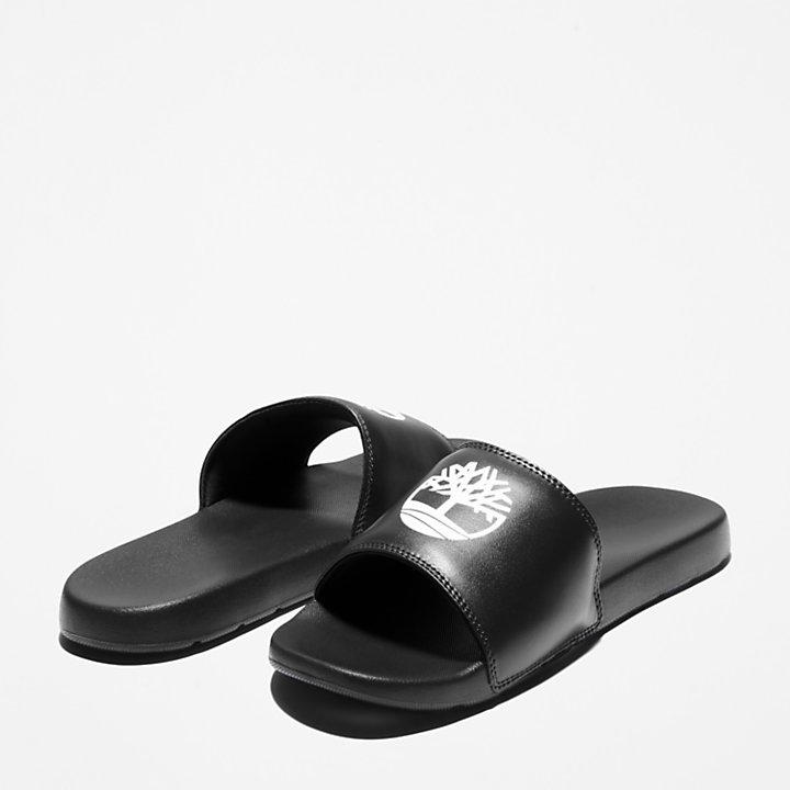 Playa Sands Slide Sandale in Schwarz-