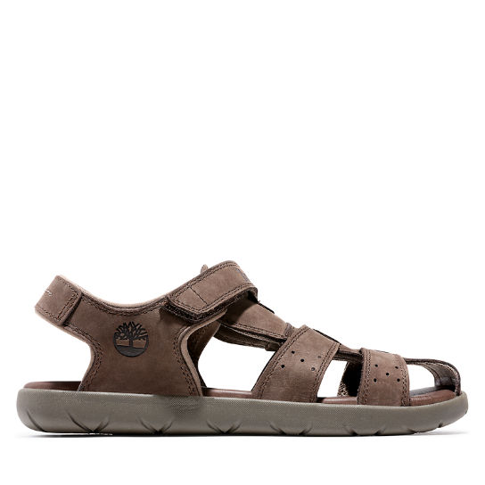 Sandal for Junior in Dark Brown | Timberland