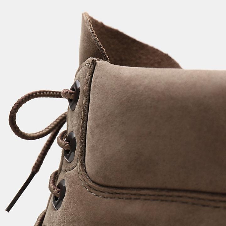 Bota 6 Inch Tradicional Premium para Hombre en beis grisáceo-