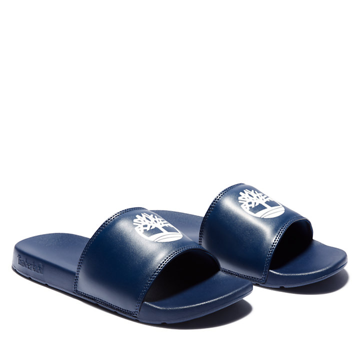 Playa Sands Slide Sandaal voor Heren in marineblauw-