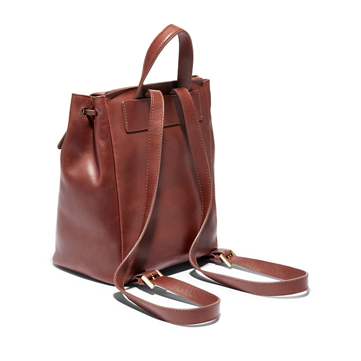 Maple Run Small Backpack for Women in Brown-