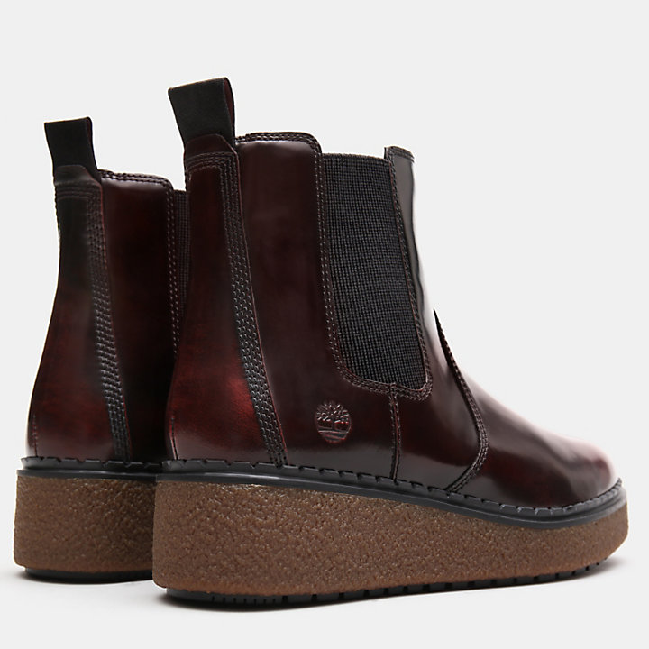 Bluebell Lane Chelsea Boot for Women in Burgundy-