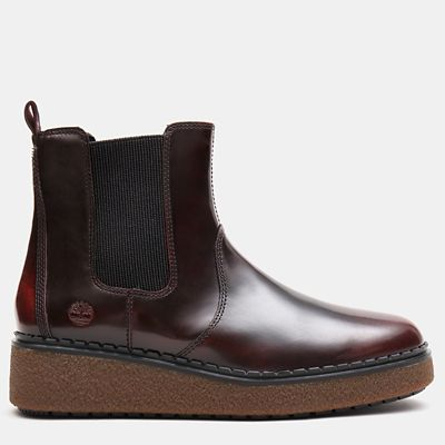 Bluebell+Lane+Chelsea+Boot+for+Women+in+Burgundy