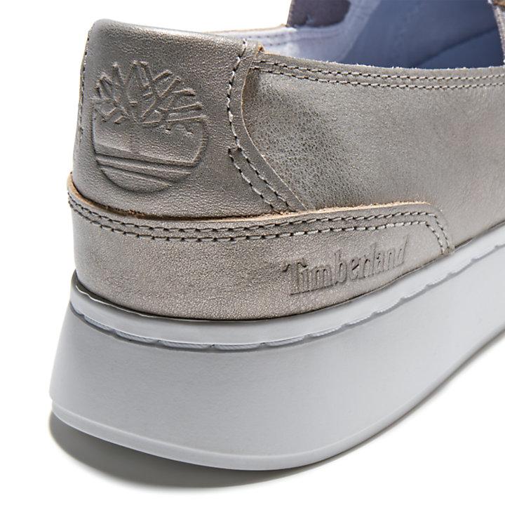 Chaussure à enfiler Atlanta Green pour femme en argent-