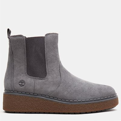 Bluebell+Lane+Chelsea+Boot+for+Women+in+Dark+Grey