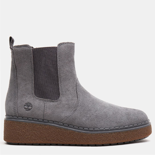 Stivaletto Chelsea da Donna Bluebell Lane in grigio scuro | Timberland