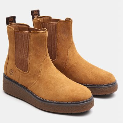 Bluebell+Lane+Chelsea+Boot+for+Women+in+Light+Brown