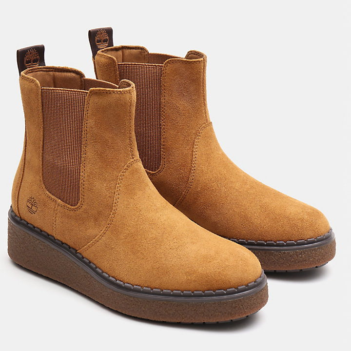 Bluebell Lane Chelsea Boot for Women in Light Brown-
