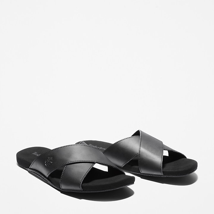 Seaton Bay Sandal for Men in Black-