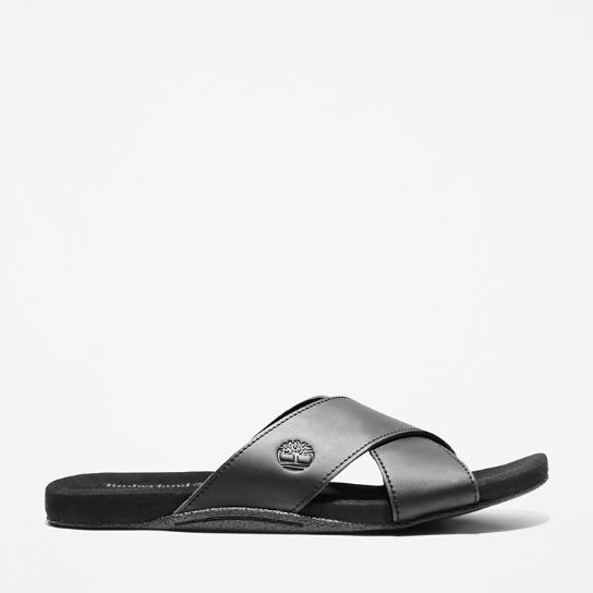 Seaton Bay Sandal for Men in Black | Timberland
