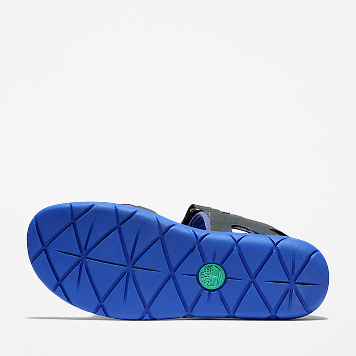 Perkins Row Strappy Sandal for Toddler in Grey/Green-