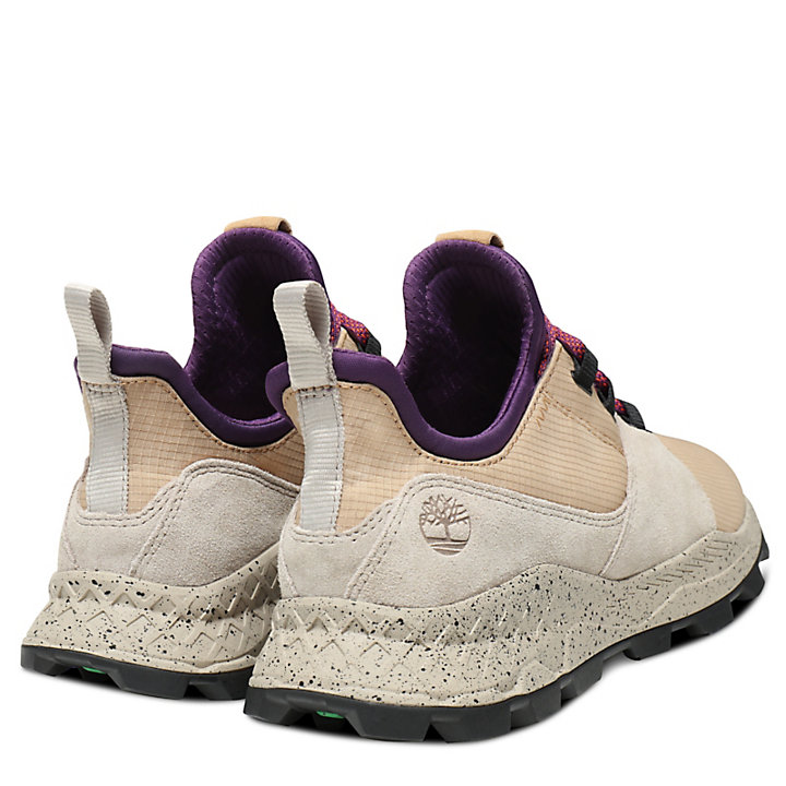 Brooklyn Sneaker for Men in Beige/Purple-