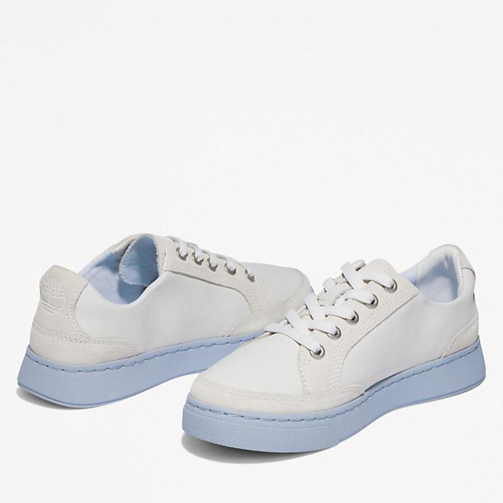 Atlanta Green Trainer for Women in White/Blue-