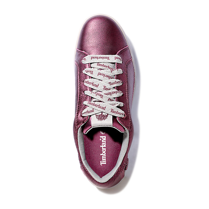 Marblesea Leather Sneaker for Men in Purple-